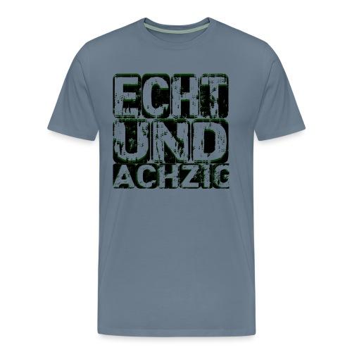 Twitch-echtundachzig - Männer Premium T-Shirt
