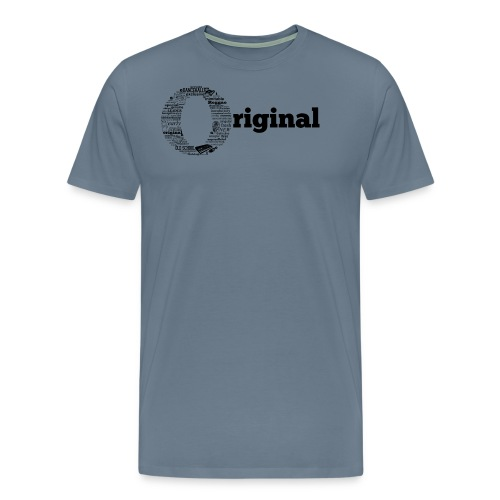 original grey - Men's Premium T-Shirt
