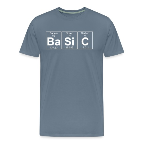 Ba-Si-C (basic) - Full - Men's Premium T-Shirt
