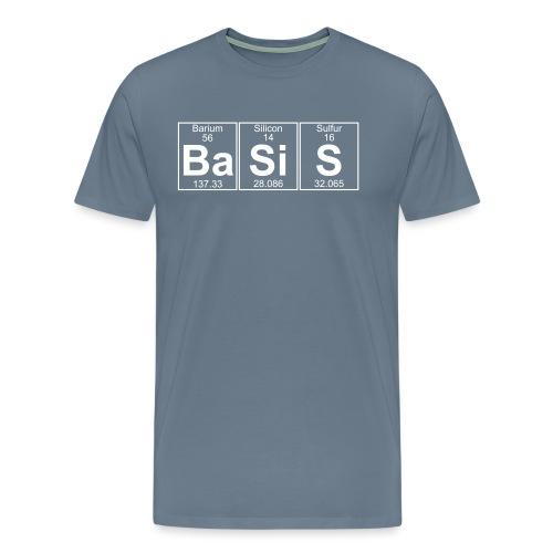 Ba-Si-S (basis) - Full - Men's Premium T-Shirt