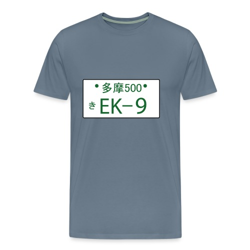 license plate ek901 - Männer Premium T-Shirt