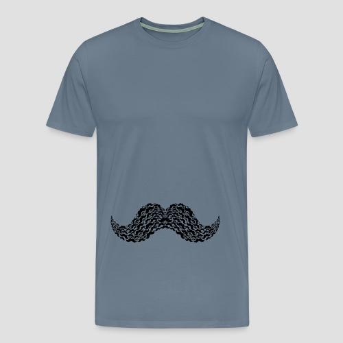Moustache Overload - Männer Premium T-Shirt