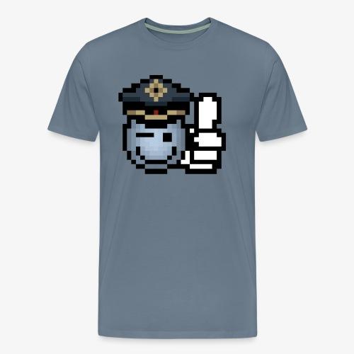 copzone smiley - Männer Premium T-Shirt