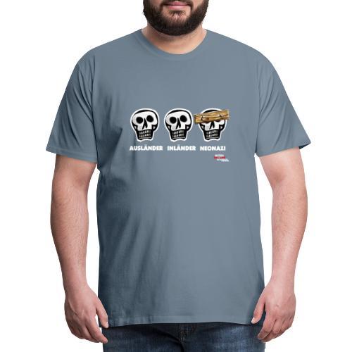 dreischaedel - Männer Premium T-Shirt