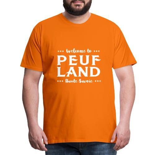 Peuf Land 74 - white - T-shirt Premium Homme