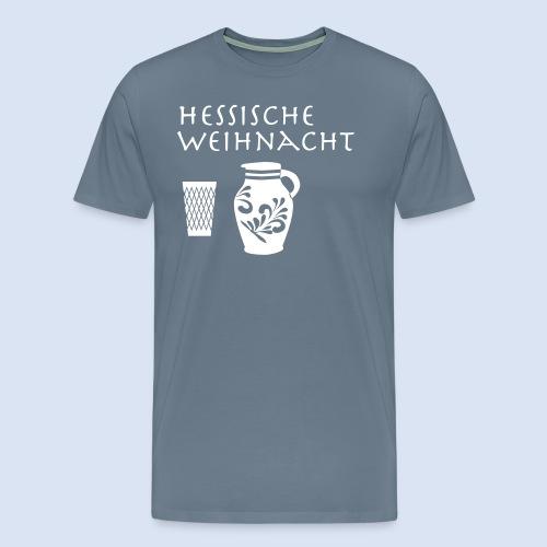 Hessische Weihnachten - Männer Premium T-Shirt