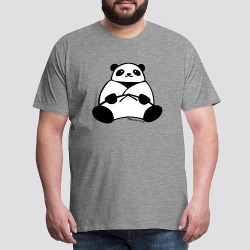Panda - Mannen Premium T-shirt