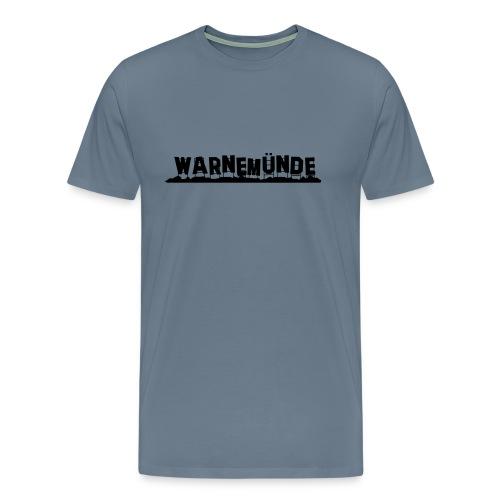 Warnemünde - Hollywood - Männer Premium T-Shirt