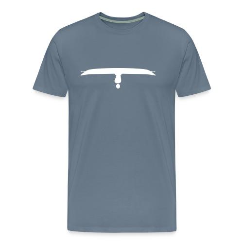 Upside down kayak - Men's Premium T-Shirt