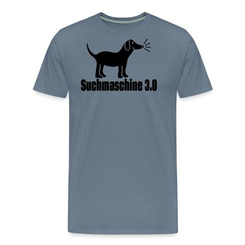 Hund Suchmaschine - Männer Premium T-Shirt