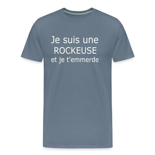 Rockeuse - T-shirt Premium Homme
