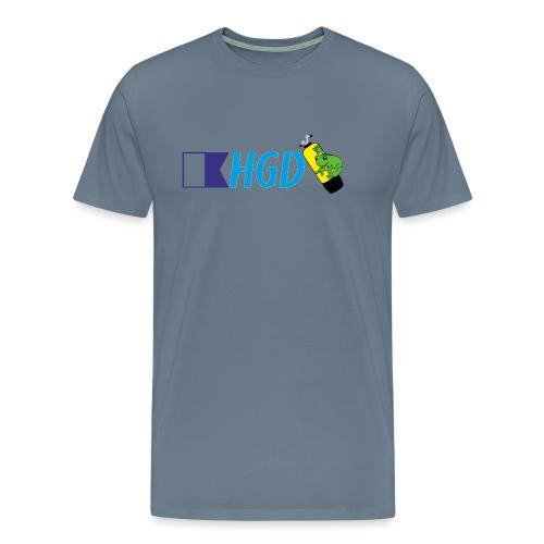 Homme grenouilles de Divonne Banière - T-shirt Premium Homme