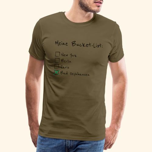 Ich war noch niemals in New York...aber in B.O. - Männer Premium T-Shirt