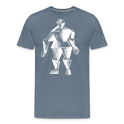 White Robot Knight - Men's Premium T-Shirt