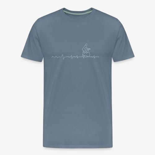 Gift Heartbeat Fitness - Men's Premium T-Shirt