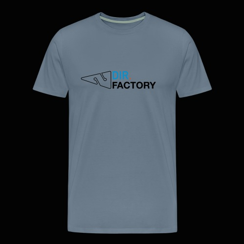 Logo mit Arrow DESIGN - Männer Premium T-Shirt