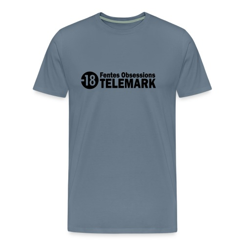 telemark fentes obsessions18 - T-shirt Premium Homme