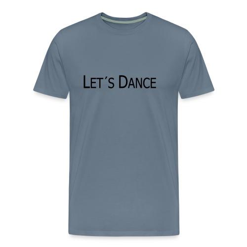 lets dance logo neu schrift 10cm - Männer Premium T-Shirt