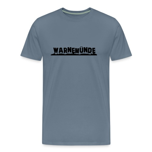 Warnemünde - Hollywood - Männer Premium T-Shirt