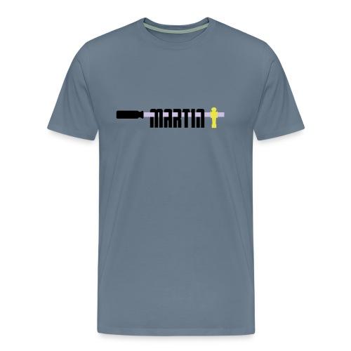 martin - Mannen Premium T-shirt