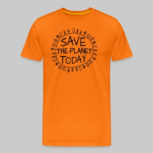 Safe the Planet - Männer Premium T-Shirt