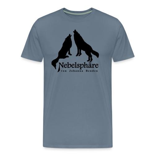 Wölfe Nebelsphäre - Männer Premium T-Shirt