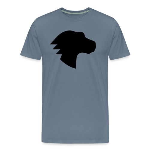 Dino Positive Logo - Men's Premium T-Shirt
