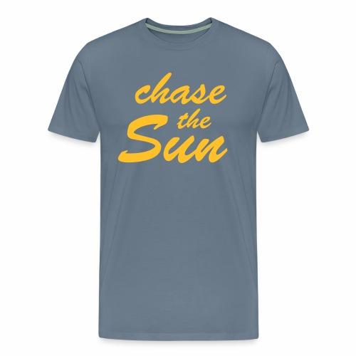 Chase_the_Sun - Männer Premium T-Shirt