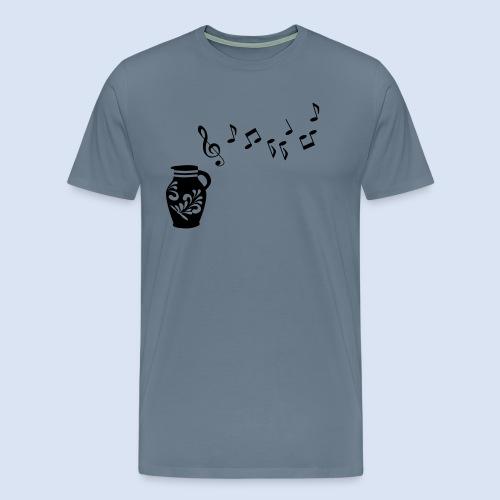 Frankfurter Musik Bembel - Männer Premium T-Shirt