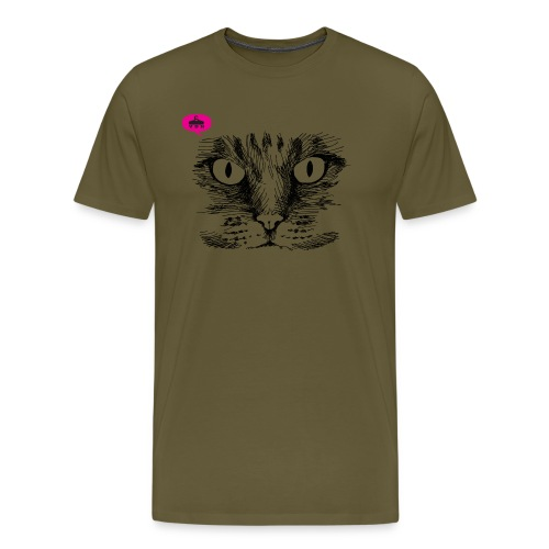 kattegezicht vdh - Mannen Premium T-shirt