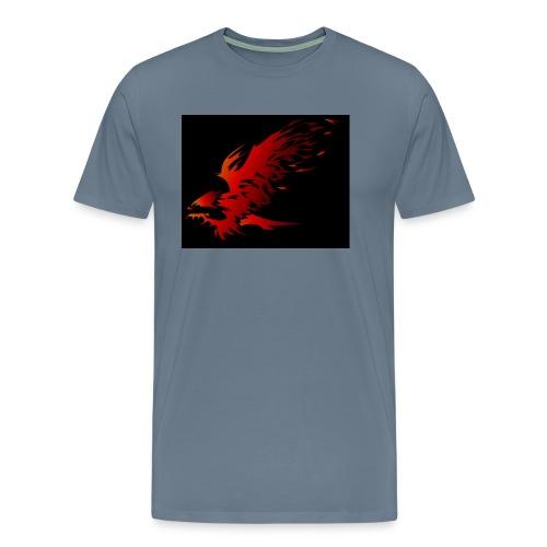 Feuer Adler - Männer Premium T-Shirt