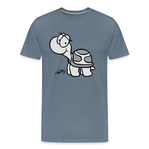 Schildkroete Schnitt - Männer Premium T-Shirt