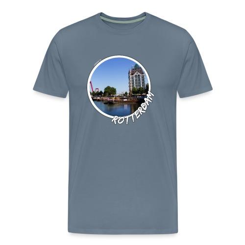 rotterdam oude haven 2 - Mannen Premium T-shirt