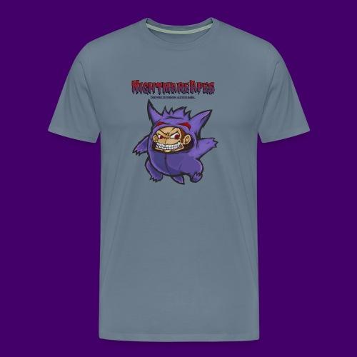 NightmareApes Tasche - Männer Premium T-Shirt