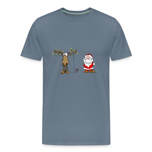 noel branché - T-shirt Premium Homme