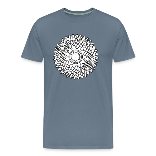 Mountainbike Rennrad Fahrrad Schaltkassette - Männer Premium T-Shirt