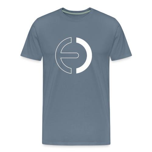 logo white only - Men's Premium T-Shirt