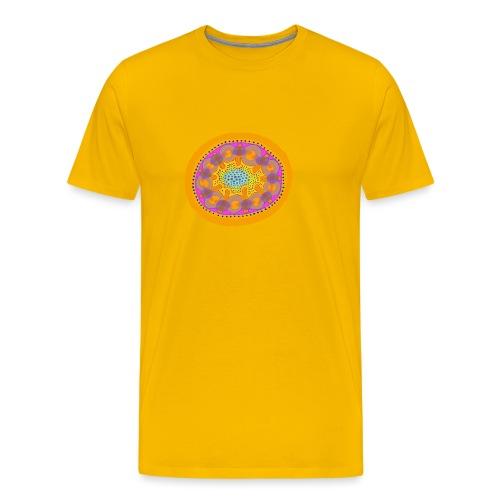 Mandala Pizza - Men's Premium T-Shirt