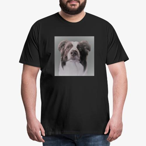 collie rush - Mannen Premium T-shirt