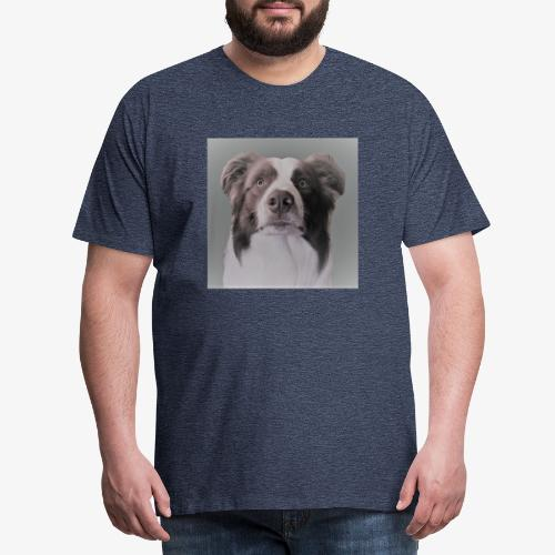 collie rush - Mannen Premium T-shirt