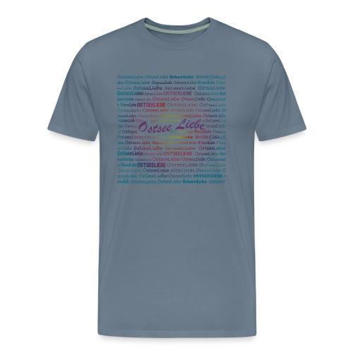 Ostseeliebe lila bund - Männer Premium T-Shirt