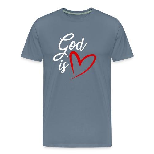 God is love 2B - Maglietta Premium da uomo