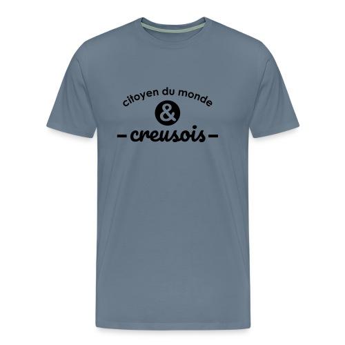 Citoyen du monde & creusois - T-shirt Premium Homme