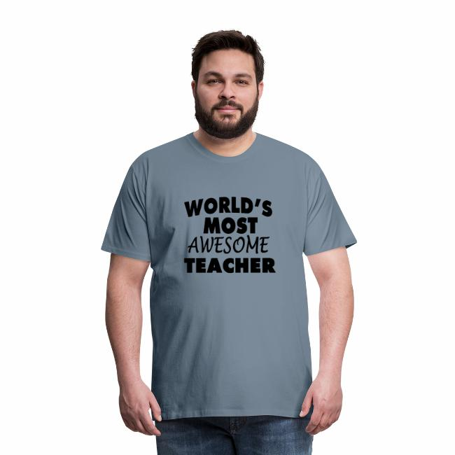Black Design World s Most Awesome Teacher