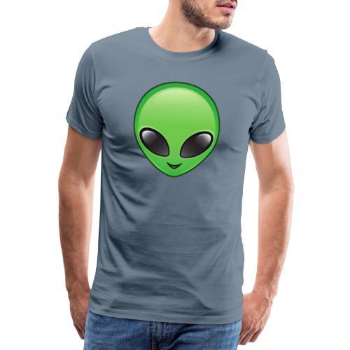 Alien face - Premium-T-shirt herr