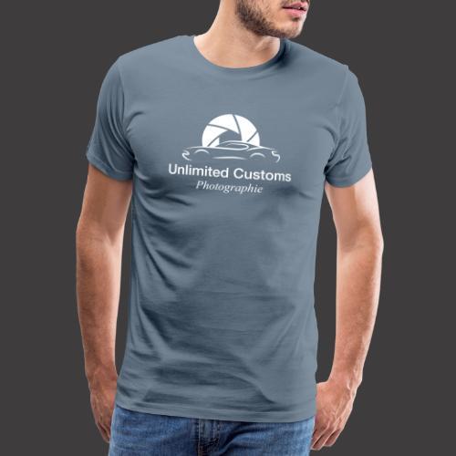 Logo_weiß4k - Männer Premium T-Shirt