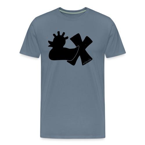 PunkEnte mit X v3.3 - Männer Premium T-Shirt