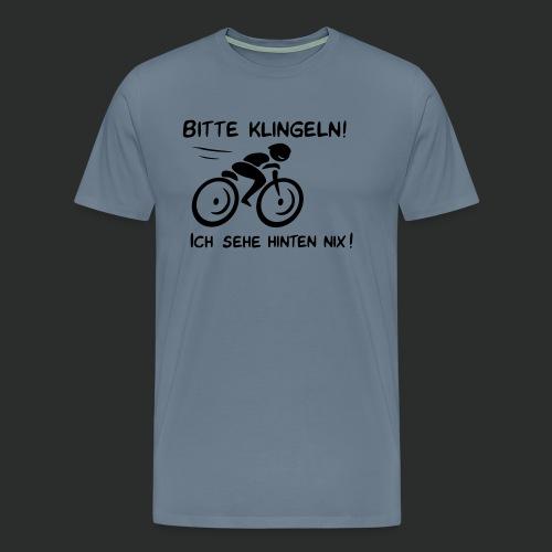 Radfahrer bitte klingeln! - Männer Premium T-Shirt