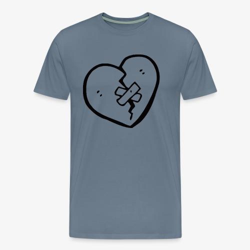 Brocken heart - Männer Premium T-Shirt