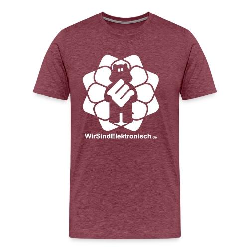 BigLogoMitUrl - Männer Premium T-Shirt